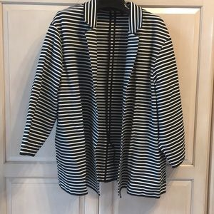 NWOT Philosophy striped black/white Ladies Blazer